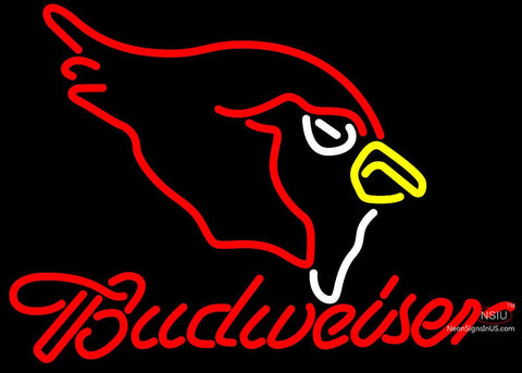 Budweiser Arizona Cardinals NFL Neon Sign