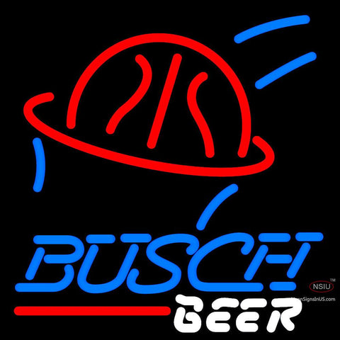 Busch Beer Basketball Neon Beer Sign