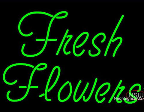 Fresh Flowers Neon Sign