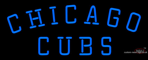 Chicago Cubs Primary 7 Logo MLB Neon Sign