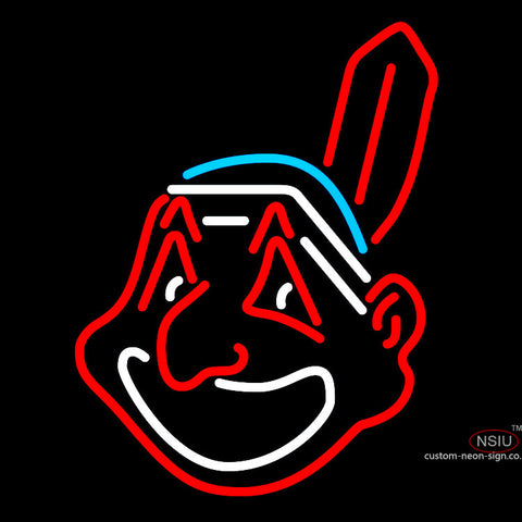 Cleveland Indians MLB Neon Sign x