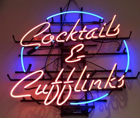 Cocktails Real Neon Glass Tube Neon Signs