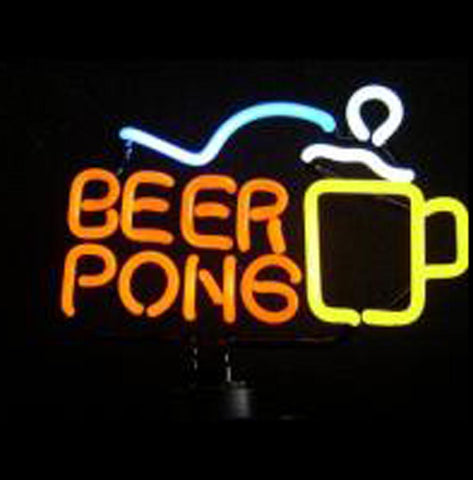 Cool Sports Cross Neon Sculpture Miller Genuine Draft Neon Beer Sign