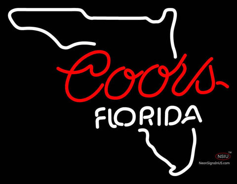 Coors Florida Neon Sign