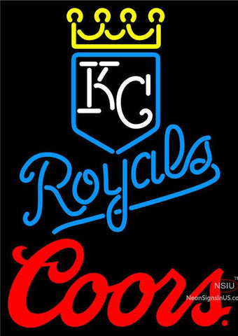 Coors Kansas City Royals MLB Neon Signs