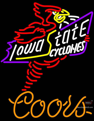 Coors Light Killer Iowa State Cyclones Neon Sign Sale Price Look