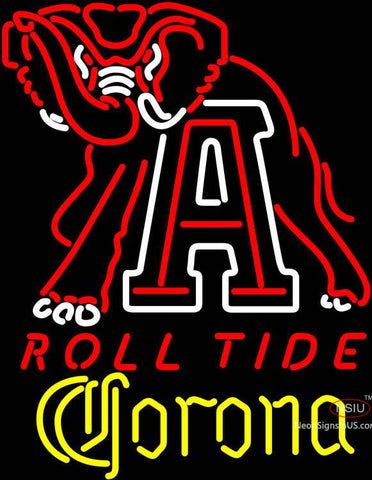 Corona Alabama Roll Tide Neon Sign
