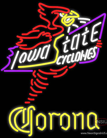 Corona Killer Iowa State Cyclones Real Neon Glass Tube Neon Sign Sale Price Look
