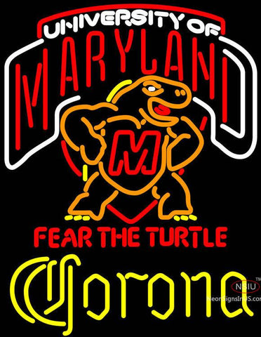 Corona Maryland Turtle Neon Sign