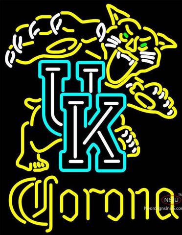Corona UK Kentucky Wildcats Logo Neon Sign NCAA
