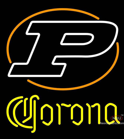 Corona University Boilermakers Helmet Neon Sign