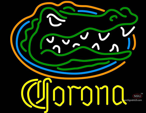 Corona University of Florida Neon Beer Sign