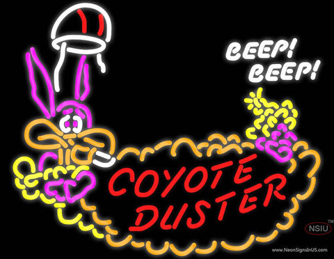 Coyote Duster Hemi  Mopar Roadrunner Real Neon Glass Tube Neon Sign