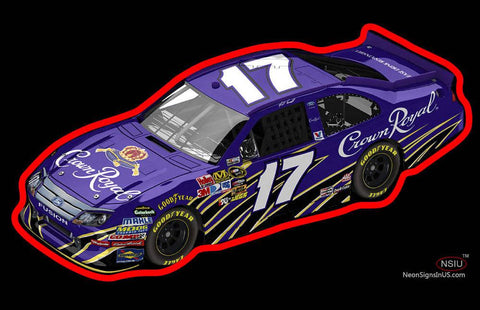 Crown Royal NASCAR Neon Sign
