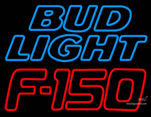 Bud Light Logo And Ford  Automotive Neon Sign