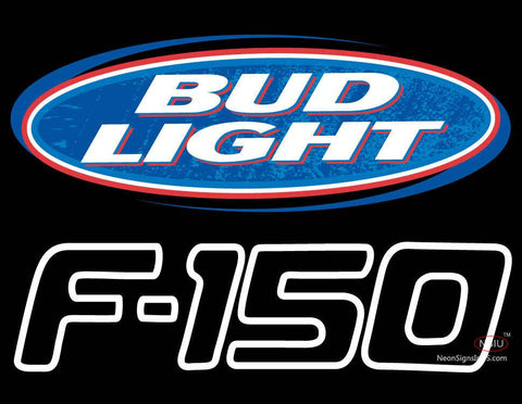 Bud Light Logo And Ford  Neon Sign