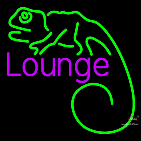 Custom Budweiser Lizard Lounge Neon Sign