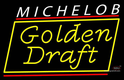 Custom Michelob Golden Draft Neon Sign
