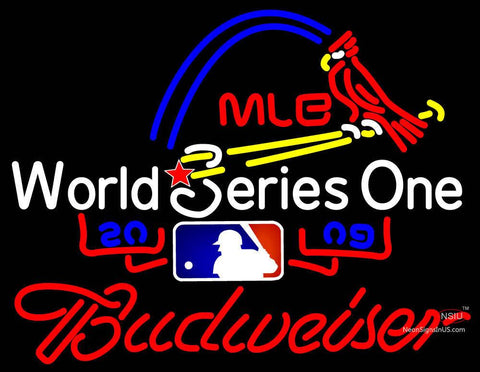 All Star Game With Budweiser Mlb Neon Sign