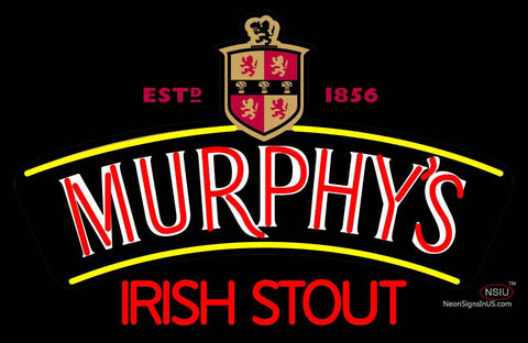 Custom Murphy Irish Stout Neon Sign