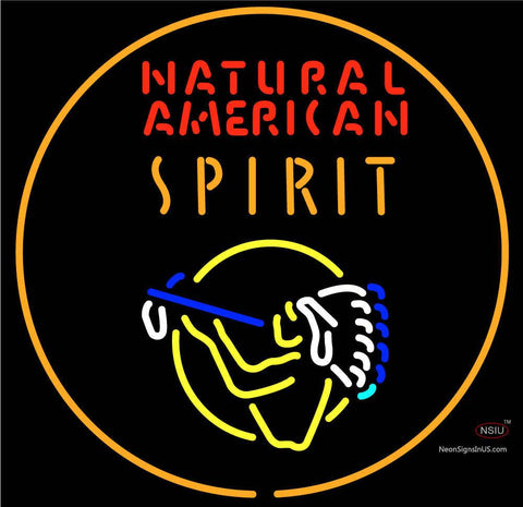 Custom Natural American Spirit Neon Sign