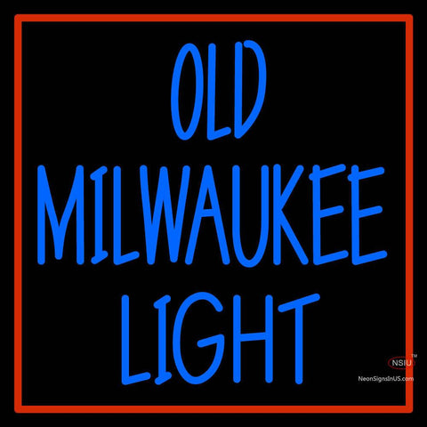 Custom Old Milwaukee Neon Sign