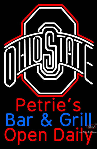 Custom Petrie Bar And Grill Neon Sign
