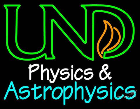 Custom Physics Astrophysics Neon Sign