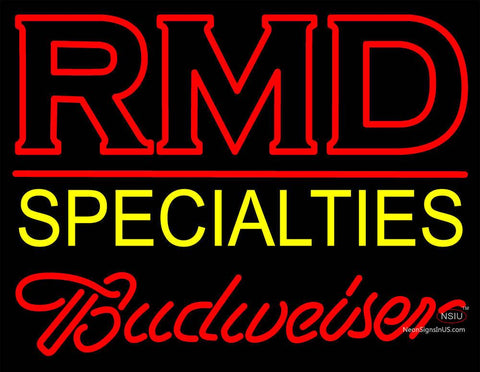 Custom Rmd Specialties Neon Sign 7