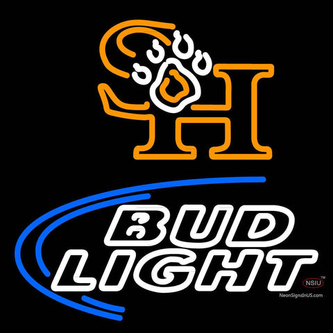 Custom Sam Houston State Bearkats Bud Light Neon Sign