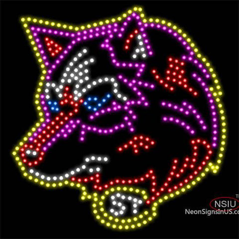 Custom Scsu Logo Led Sign