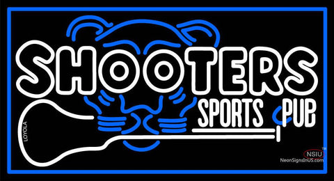Custom Shooters Sports C Pub Neon Sign