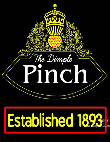 Custom The Dimple Pinch Neon Sign