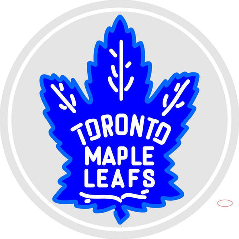 Custom Toronto Maple Leafs  7 Primary Logo Neon Sign