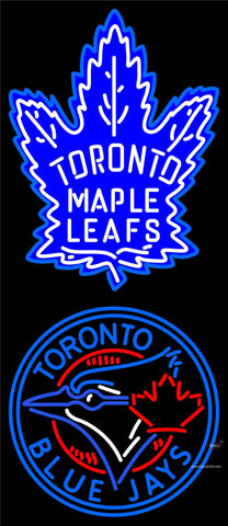 Custom Toronto Maple Leafs  7 Primary Logo Neon Sign 7