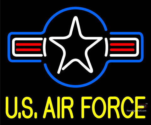 Custom Us Air Force Neon Sign