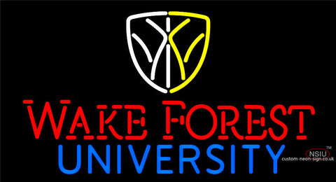 Wake Forest University Neon Sign