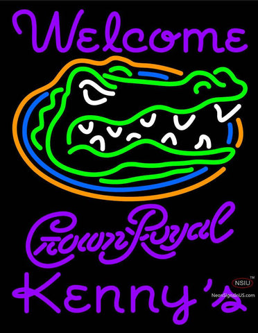 Custom Welcome To Kenny Neon Sign