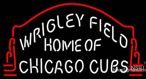 Custom Wrigley Field Home Of Chicago Cubs Neon Sign