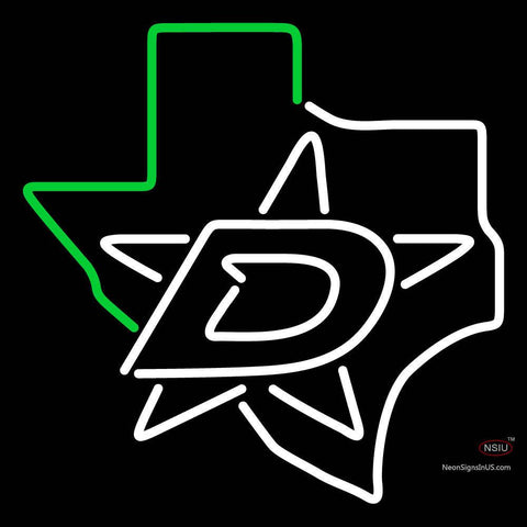 Dallas Stars Alternate   Pres Logo Nhl Neon Sign