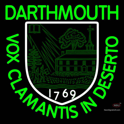 Dartmouth College Neon Sign