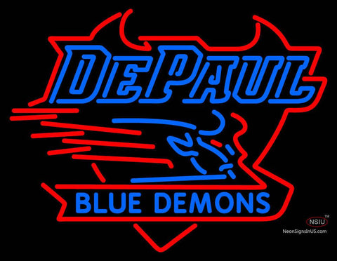 Depaul Blue Demons Neon Sign