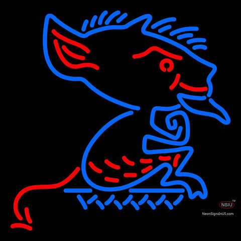 Depaul Blue Demons Primary 7  Logo NCAA Neon Sign