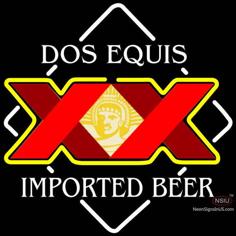 Dos Equis Neon Sign x