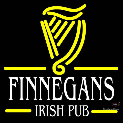 Finnegans Irish Pub Neon Sign x