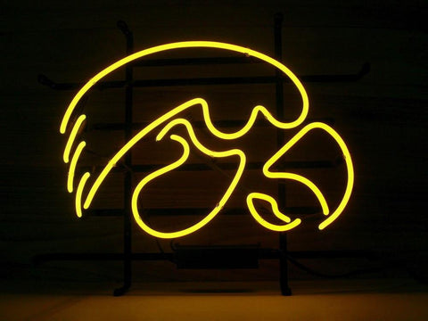 Iowa Hawkeyes Neon Sign