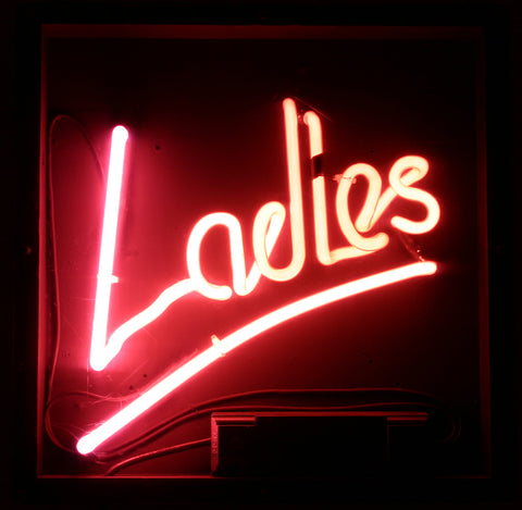Ladies Real Neon Glass Tube Neon Signs