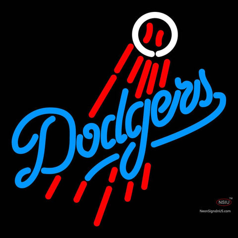 Los Angeles Dodgers MLB Neon Sign
