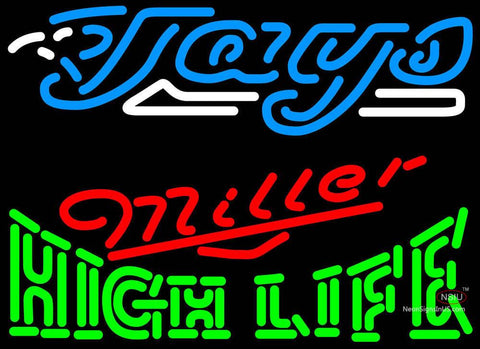 Miller High Life Toronto Blue Jays MLB Neon Sign