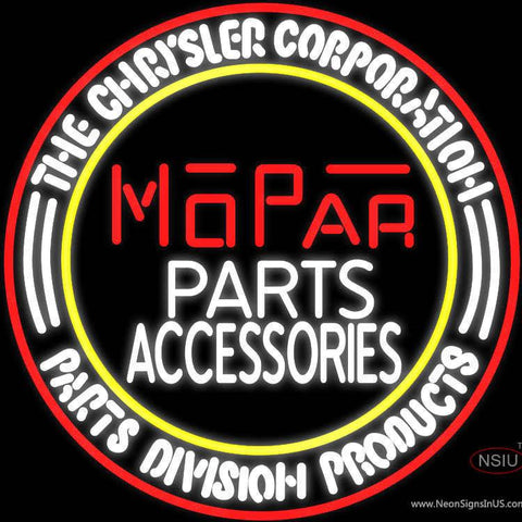 Mopar Vintage Style Parts And Accessories Real Neon Glass Tube Neon Sign Nib
